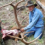 Gary caping Cliff's bull